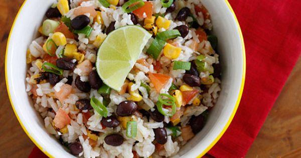 Fiesta Lime Rice | Fiestas, Limes and Rice