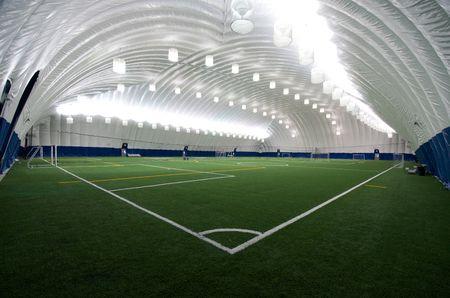 Markham Sports Dome Bubble Indoor Soccer Field Soccer Soccer Field