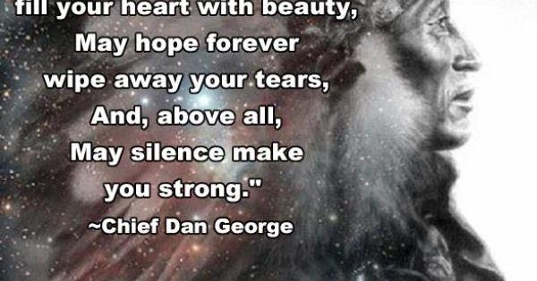 Dan Wolfe Quotes: May Silence Make You Strong!