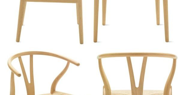 The y chair by dannish designer hans wegner beautiful for Wishbone chair knock off