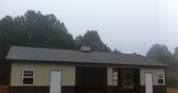 30x50x10 Post Frame Building : Post frame building nationalbarn barns