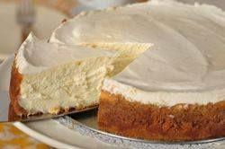 New York Cheesecake Recipe Video Recipe On Yummly Ny Cheesecake Recipe Cheesecake Recipes Desserts