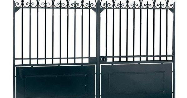 les diff rents types d 39 ouverture de portail lapeyre portail et acier. Black Bedroom Furniture Sets. Home Design Ideas
