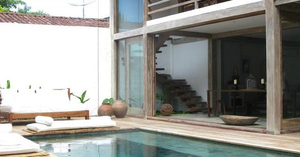 love the pool decking pool wood decking