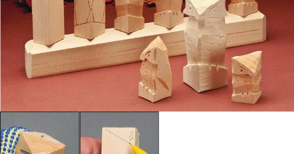 Whittling a special issue from woodcarving illustrated