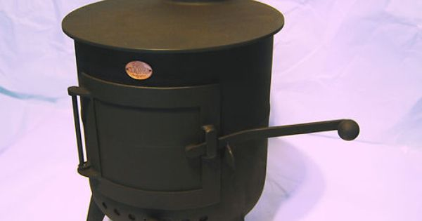 Beautiful cooper classic pot belly wood burning stove - Chimeneas de barro ...