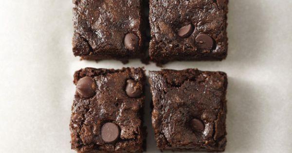 The New Zucchini Bread: Whole-Wheat Dark Chocolate Zucchini Brownies