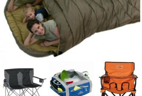 That sleeping bag though!! TOP Camping Gear Gadgets for the next family camping trip!