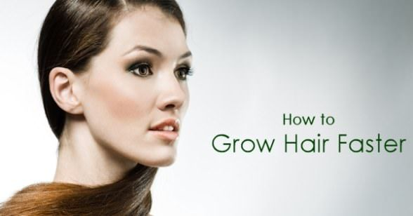 how to make front hair grow faster naturally