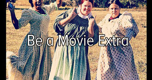 Bucket list: movie extra