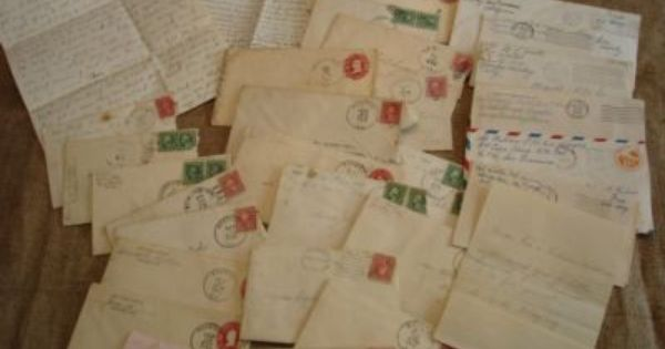lot 31 antique handwritten old letters 1916 1944 wwii the sale of old letters