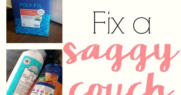 How To Fix A Sagging Couch This Is Genius Fix Your Lumpy