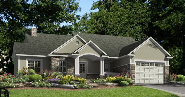 Stone And Stucco Cabin Cottage Ideas Pinterest House Curb Appeal And Exterior Makeover
