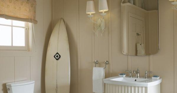 Décoration salle de bain - 26 belles idées en style nautique  Surf ...