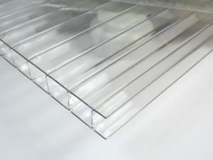 Polycarbonate Twinwall Clear Plastic Sheet In 2020 Clear Plastic Sheets Plastic Sheets Metal Structure