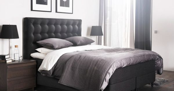 das neue vallavik boxspringbett buy pinterest bedrooms interiors and room. Black Bedroom Furniture Sets. Home Design Ideas