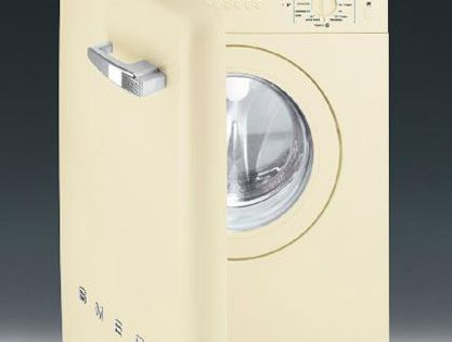 Washing machine for small spaces modern space saving home appliances from smeg washing - Washing machines for small spaces photos ...