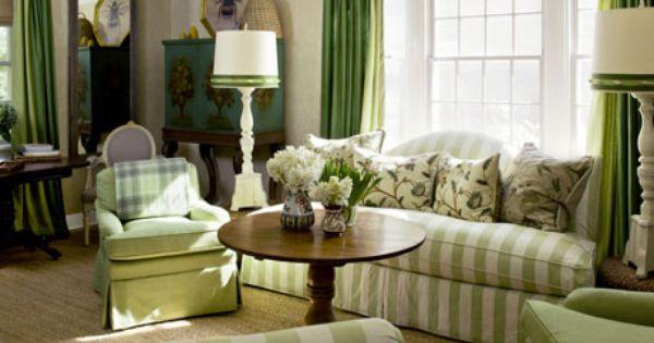 Green Living Room Living Room A Com Living Room Green Cottage Living Rooms Green Living Room Decor