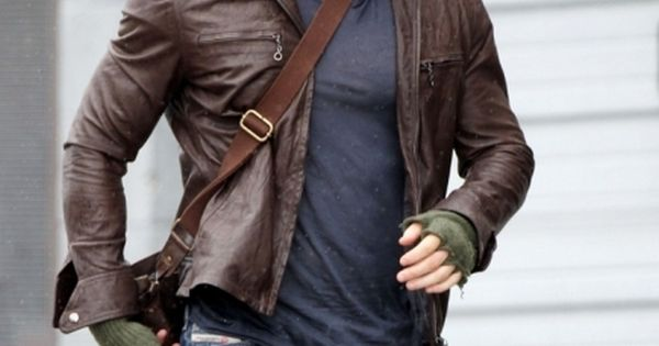 Deisel leather jacket