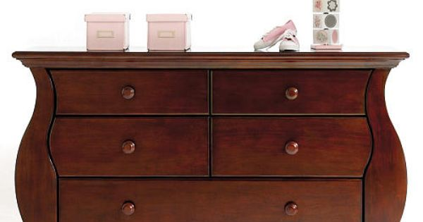 Baby Cache Oxford Double Dresser Cherry Baby Cache