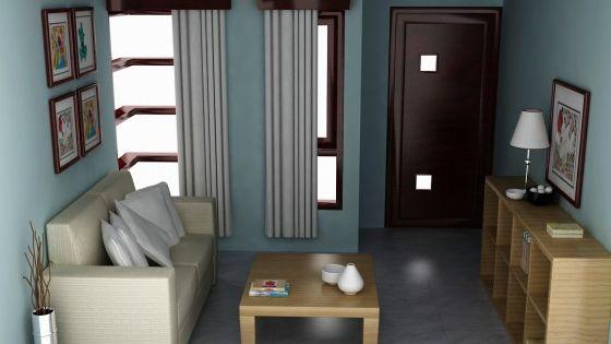 interior rumah minimalis sofa ruang tamu jeep