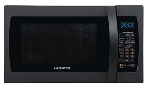 Farberware Professional Fmo13ahtple 1 3 Cubic Foot 1100 Watt Microwave Oven With Sensor Cooking White Platinum Microwave Oven Microwave Farberware