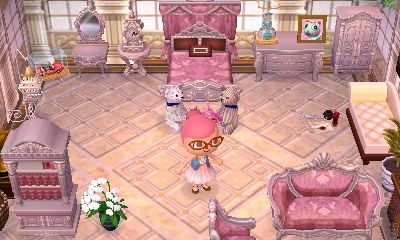 Phenomenal Rococo In White Animal Crossing Happy Home Designer New Leaf Onthecornerstone Fun Painted Chair Ideas Images Onthecornerstoneorg