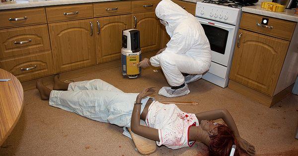 Kitchen Murder Scene