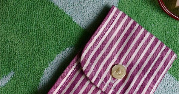 Sewing Secrets: DIY Trick Up My Sleeve Coin Purse Now that's what