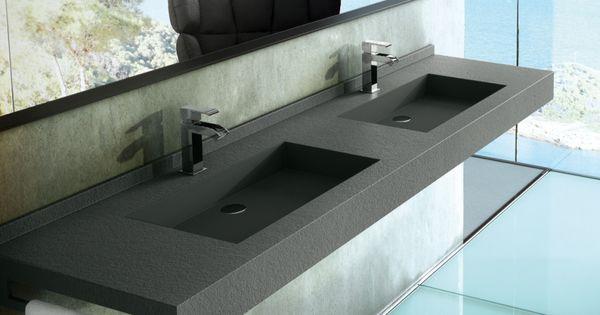 Fiora vrij hangende wastafel fontana collectie badkamer wastafel wastafels badkamer idee n - Deco hangende toilet ...