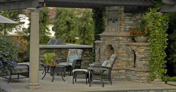 Eldorado Stone Featured Sequoia Rustic Ledge Outdoor