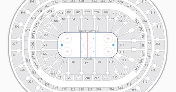 Sabres Seating Chart In 2020 Seating Charts Yellow Living Room Seating