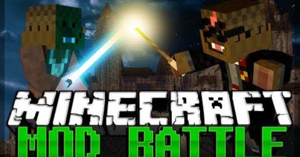 Minecraft Harry Potter Mod Vs Star Wars Mod Mod Battles Harry Potter Minecraft Star Wars Battle