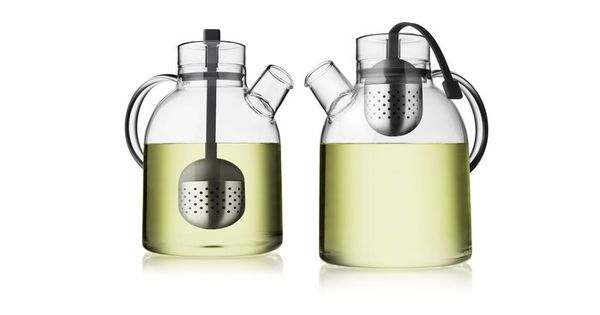 Tea Kettle Made of clear glass, which allows you to see the