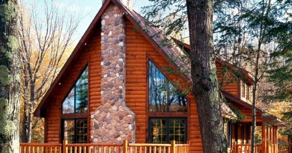 Aspen log homes cabins and log home floor plans for New hampshire log cabins