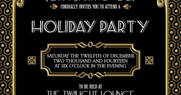 Invitation To Holiday Party is amazing invitations sample
