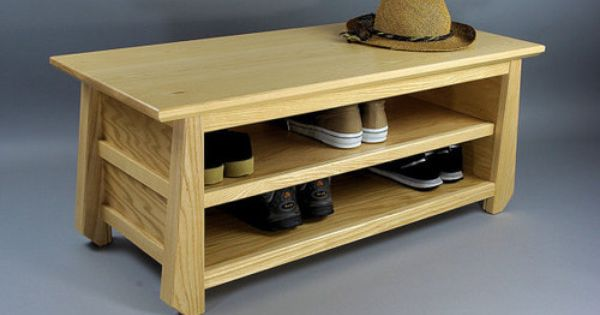 Japanese Tansu Style Shoe Storage Bench By Woodistry Asian