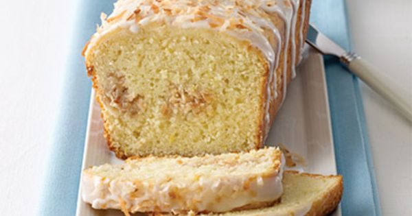 Lemon Coconut Bread Recipe from Land O'Lakes -Photography By Tony Kubat