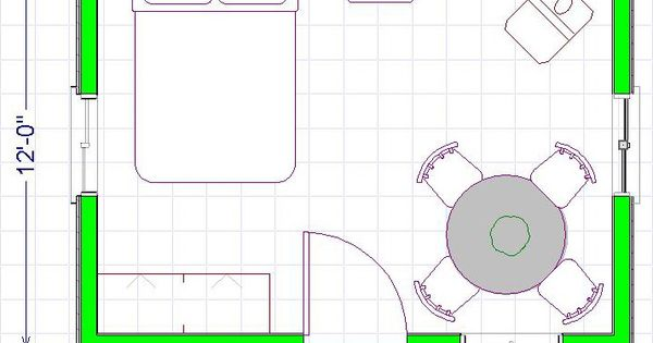 12x16 cabin floor plan for 12x16 kitchen plans