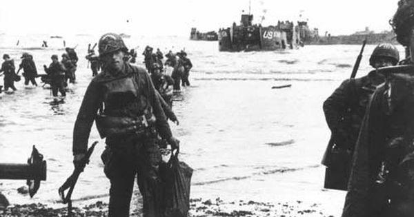 d-day beachhead