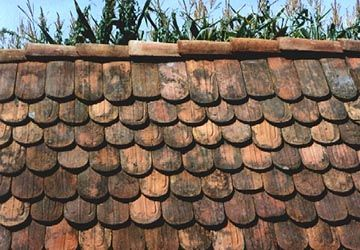 Reclaimed German Beaver Tail Roof Tiles Roof Tiles Clay Roof Tiles Limestone House