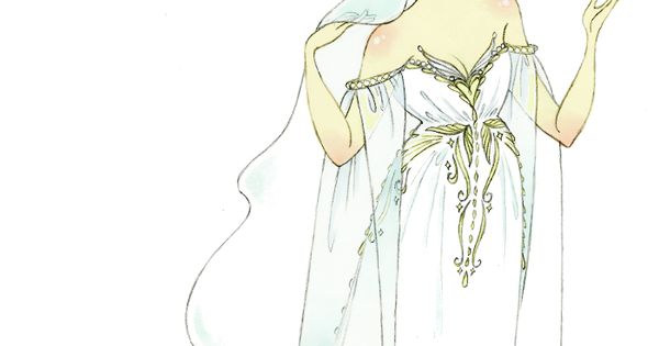 pinkrosesbluebow: Large picture! This dress is based on the rough sketches included