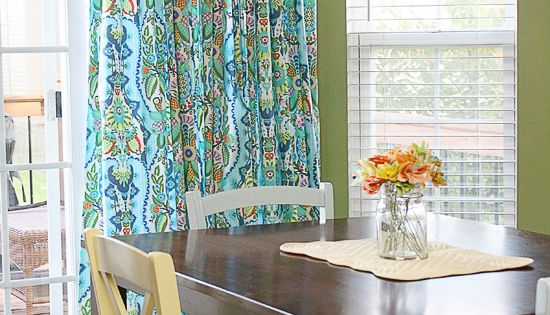 Diy Window Treatment For Sliding Glass Doors Curtain