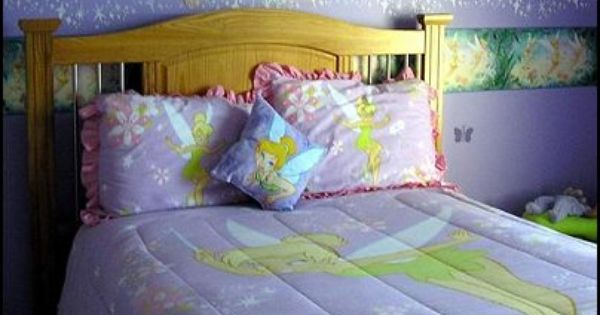 Image detail for decorating theme bedrooms maries manor fairy tinkerbell bedroom - Thema slaapkamer meisje ...