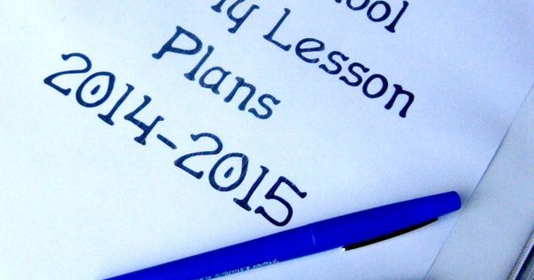 How to write preschool lesson plans a year in advance - Stay