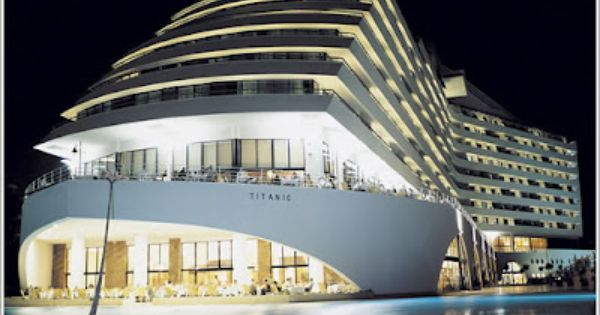 Titanic Beach Resort Turkey Facts Land Beach Resorts Building Beach Hotels