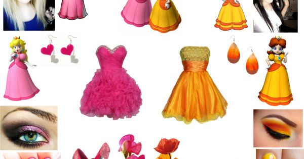 """Princess Peach & Princess Daisy"" by carissa-chaos on ..."