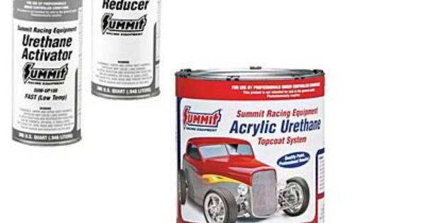 Summit Racing Equipment Acrylic Urethane Paint Combos Sum Csumup334 Summit Racing Gallon Of Paint Acrylic