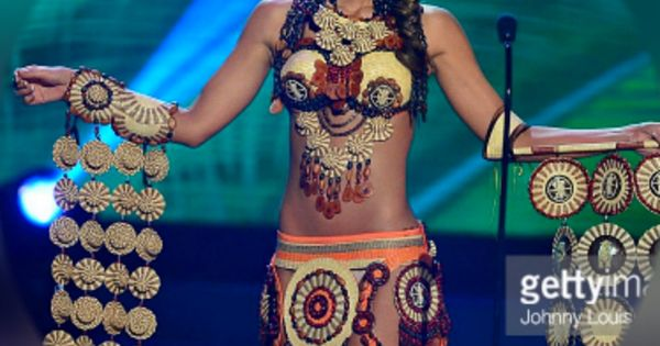 At the Miss Universe National Costume competition, Miss ...