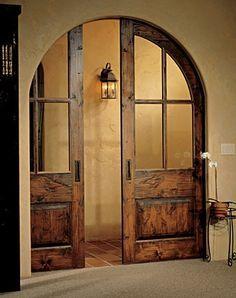Pocket Door In Arched Opening Google Search Pocket Doors